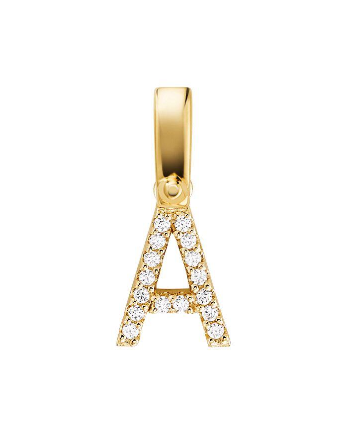 Michael Kors - Custom Kors 14K Gold-Plated Sterling Silver Letter Charm