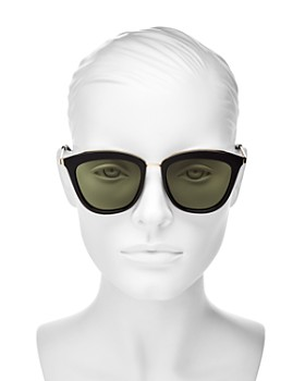 Le Specs - Women's Caliente Cat Eye Sunglasses, 53mm