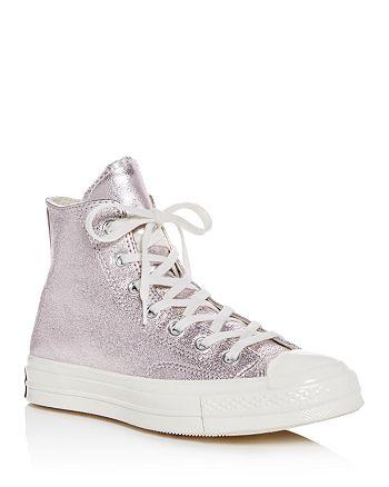 3bf81b39ec3bec Converse Women s Chuck Taylor All Star 70 Metallic High Top Sneakers ...