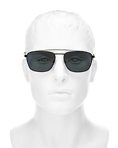 Prada - Men's Polarized Brow Bar Square Sunglasses, 59mm