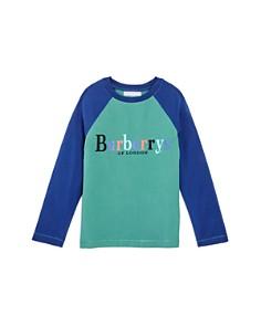 Burberry Unisex Logo Raglan Tee - Little Kid, Big Kid - Bloomingdale's_0