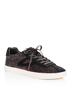 Tretorn - Women's Glitter Knit Lace Up Sneakers