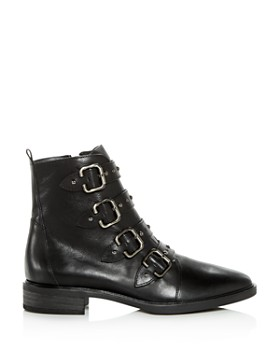Paul Green - Women's Vega Studded Strap Leather Booties