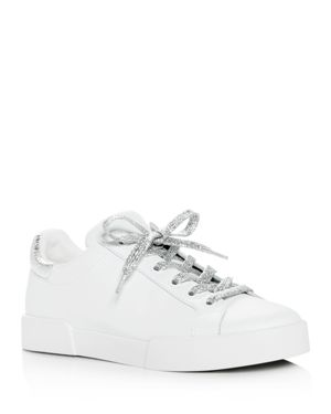 Kenneth Cole Women's Tyler Leather Lace Up Sneakers