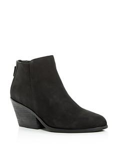 Eileen Fisher - Women's Rove Nubuck Leather High-Heel Booties