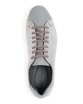 Salvatore Ferragamo - Men's Nubuck Leather Low-Top Sneakers