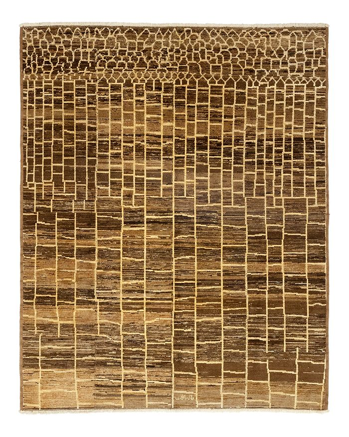 """Solo Rugs - Moroccan 6 Hand-Knotted Area Rug, 7' 10"""" x 9' 7"""""""