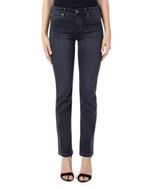 LIVERPOOL Sadie Straight-Leg Jeans In Meteorite