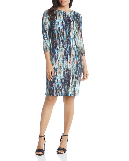 Karen Kane - Printed Sheath Dress