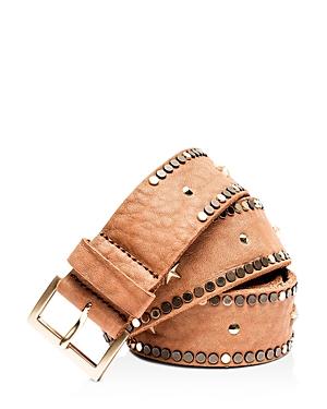 Zadig & Voltaire Starlight Embellished Leather Belt