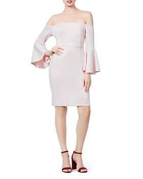 6017f5dca7c Betsey Johnson - Off-the-Shoulder Dress ...