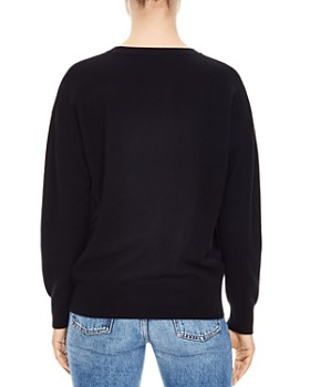 Sandro - Charles Dream Wool & Cashmere Graphic Sweater