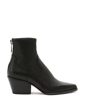 Dolce Vita - Women's Shanta Leather Western Booties