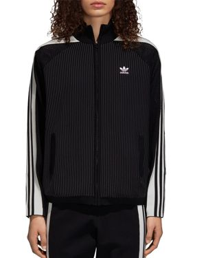 ADIDAS ORIGINALS Adibreak Track Jacket in Black