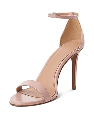 Whistles Women's Ellie Open Toe Leather High-Heel Sandals