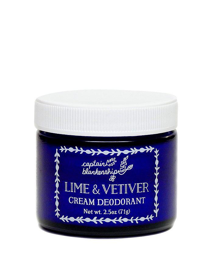 Captain Blankenship - Lime & Vetiver Cream Deodorant