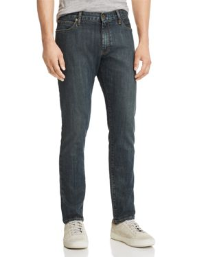 Double Eleven Slim Fit Jeans In Kaihara in Indigo