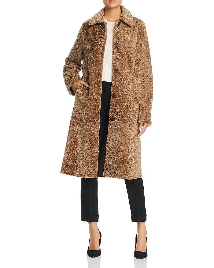 Maximilian Furs - Maximilian Furs x  Lamb Shearling Long Coat - 100% Exclusive