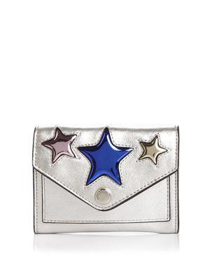 Rebecca Minkoff Multi Star Metallic Leather Key Fob Wallet 3081706