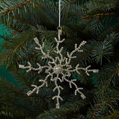 Arty Imports - Large Sparkling Snowflake Ornament