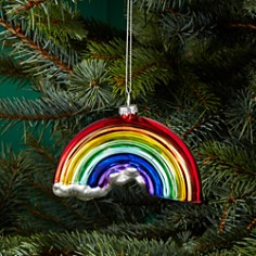 Bloomingdale's Rainbow Glass Ornament - 100% Exclusive_0