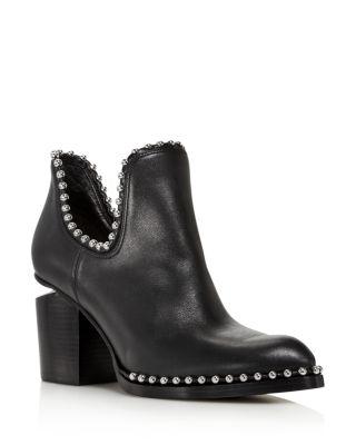 7dda7b61b34c Alexander wang women gabi pointed toe studded leather high heel ankle boots  tif 280x350 Vera wang