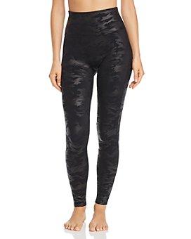 SPANX® - Plus Faux-Leather Camo Leggings