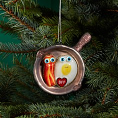 Bloomingdale's Bacon & Egg BFF Glass Ornament - 100% Exclusive _0