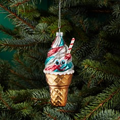Bloomingdale's Ice Cream Glass Ornament - 100% Exclusive _0
