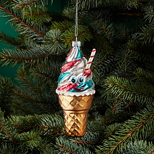 Bloomingdale's Ice Cream Glass Ornament - 100% Exclusive