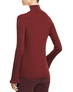 Lafayette 148 New York - Ribbed Mock-Neck Sweater