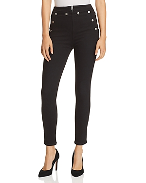 rag & bone/Jean Penton Sailor Skinny Jeans in Black