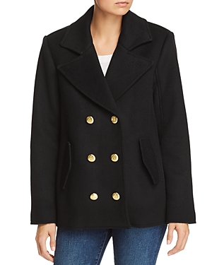 Frame Oversized Wool Peacoat