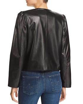FRAME - Leather Bolero