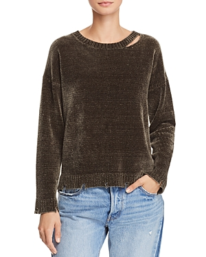 Generation Love Leslie Cutout Chenille Sweater