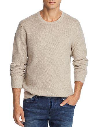 The Men's Store at Bloomingdale's - Tonal Variegated Crewneck Sweater - 100% Exclusive