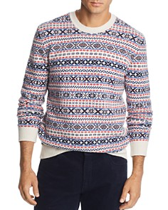 The Men's Store at Bloomingdale's - Fair Isle Sweater - 100% Exclusive