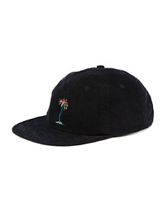 BANKS Lei Lei Embroidered Palm Tree Corduroy Cap - Bloomingdale's_0