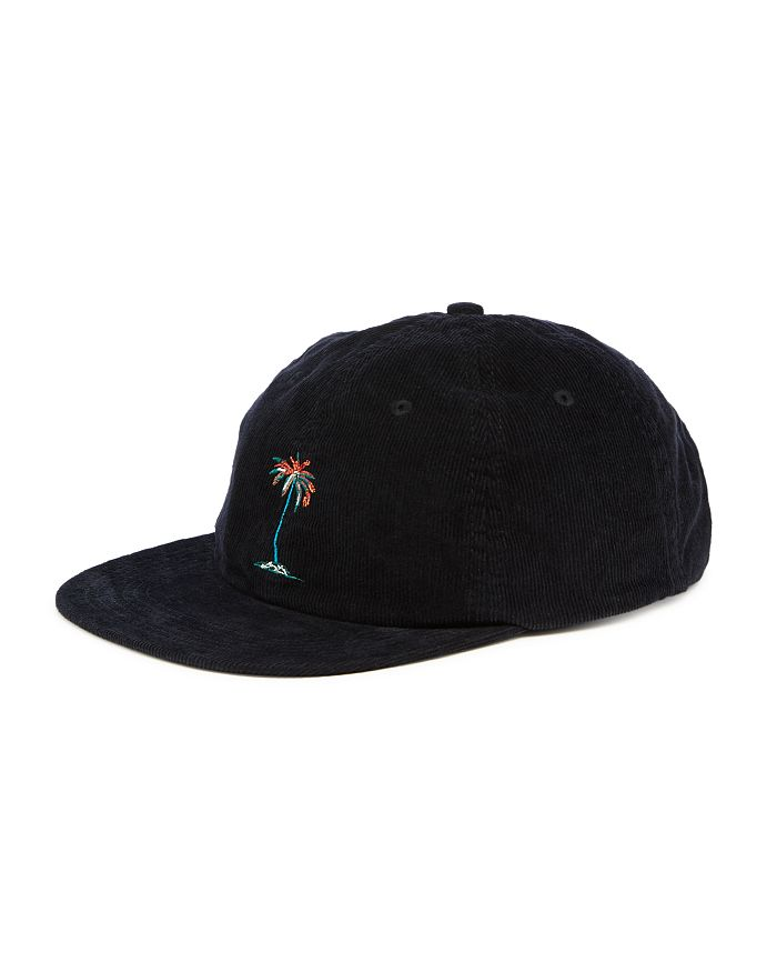 Banks Journal - Lei Lei Embroidered Palm Tree Corduroy Cap