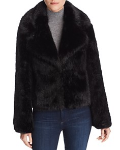 Unreal Fur - Madam Butterfly Faux Fur Jacket
