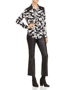 Anine Bing - Cisco Printed Silk Shirt