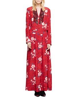 Zadig & Voltaire - Remus Pensee Silk Maxi Dress