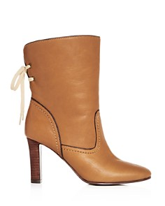 See by Chloé - Women's Lara Leather High-Heel Boots