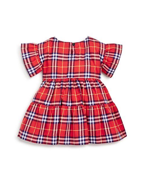 Burberry Girls  Alima Ruffle Check Dress - Baby   Bloomingdale s fd0e0368738