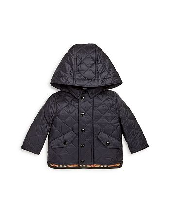 Burberry - Boys' Ilana Quilted Hooded Jacket - Baby