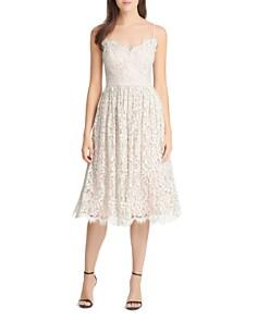 Eliza J - Gathered Lace Dress