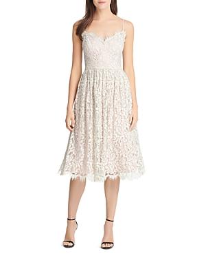 Eliza J Gathered Lace Dress