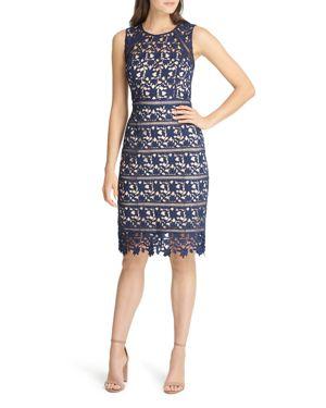 Eliza J Lace Sheath Dress 3073186