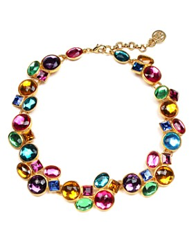 Ben Amun - Multi Crystal Necklace, 18""