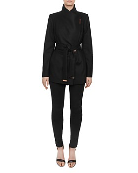 Ted Baker - Rytaa Short Belted Wrap Coat